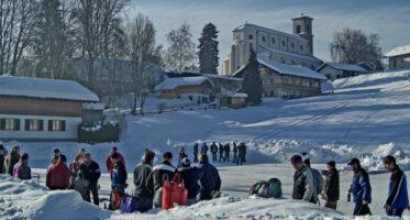 Dorfmeisterschaft im Eisstockschießen