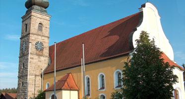Kirche Sankt Martin in Patersdorf
