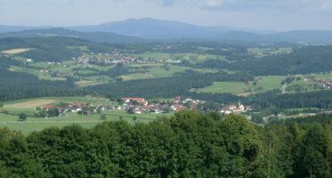 Blick auf Patersdorf © Tourist Information Patersdorf